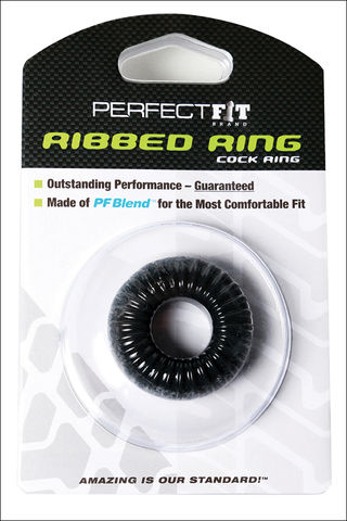 Perfect,Fit,Ribbed,Cock,Ring