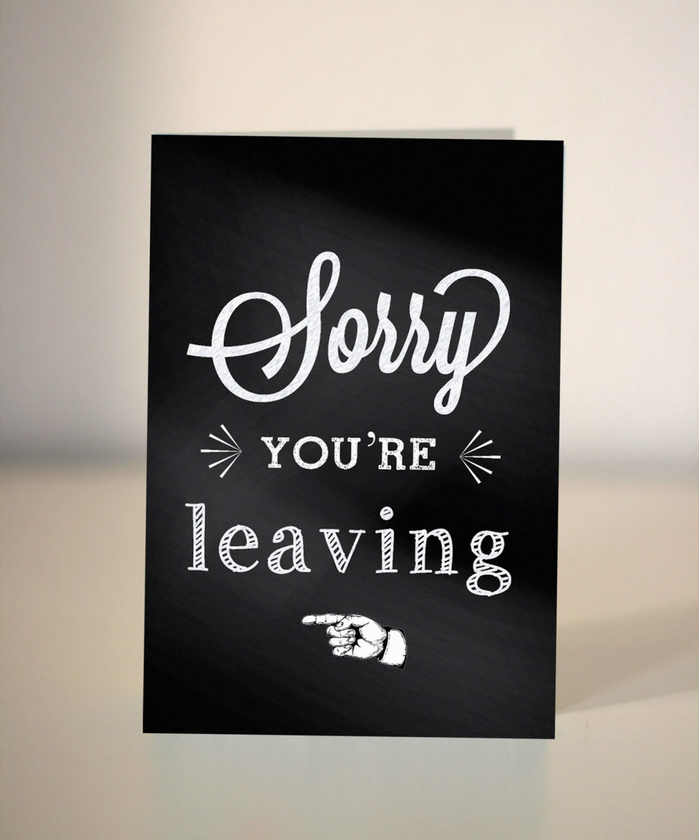 Funny Sorry Card Sorry For What I Said Dickens Ink