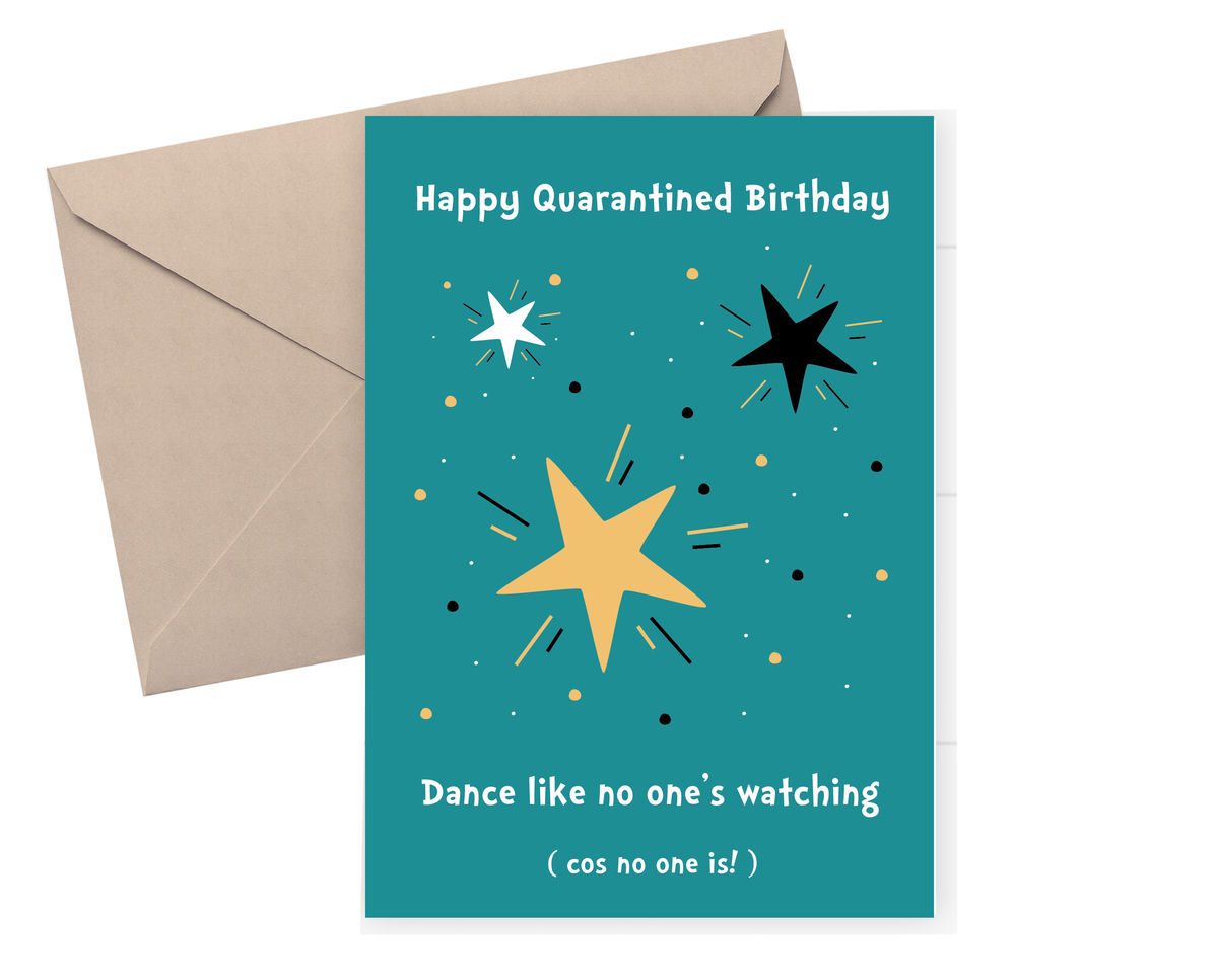 Awesome Happy Birthday Dance Like No Ones Watching Cos No One Is Personalised Birthday Cards Veneteletsinfo