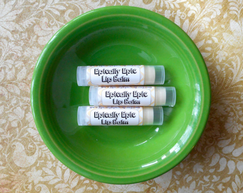 Cardamom Vanilla Epic Vegan Lip Balm - product images  of