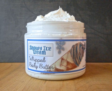 Snowy,Ice,Cream,Whipped,Body,Butter,-,Limited,Edition,Winter,Holidays,Scent,Bath_And_Beauty,hand_cream,body_butter,vegan,vegan_lotion,winter_holidays,epically_epic,whipped_body_butter,whipped_shea_butter,body_cream,vegan_body_butter,peppermint,white_chocolate,marshmallow,macadamia butter,jojoba,olive squalane,fragrance,vitamin e