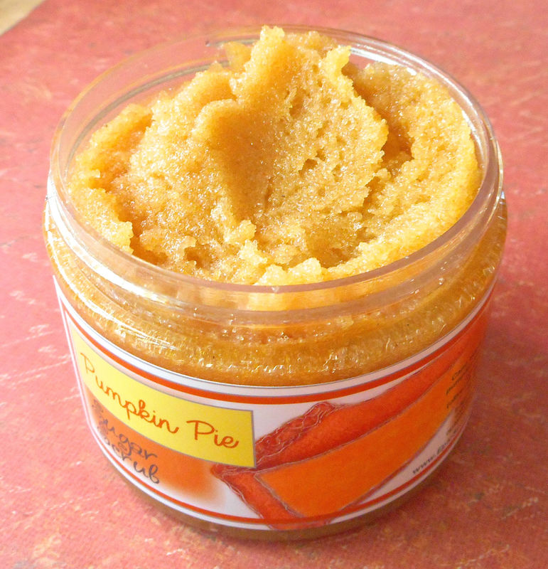 Pumpkin Pie Sugar Scrub - 8 oz - Limited Edition Fall and Halloween Scent - product images  of