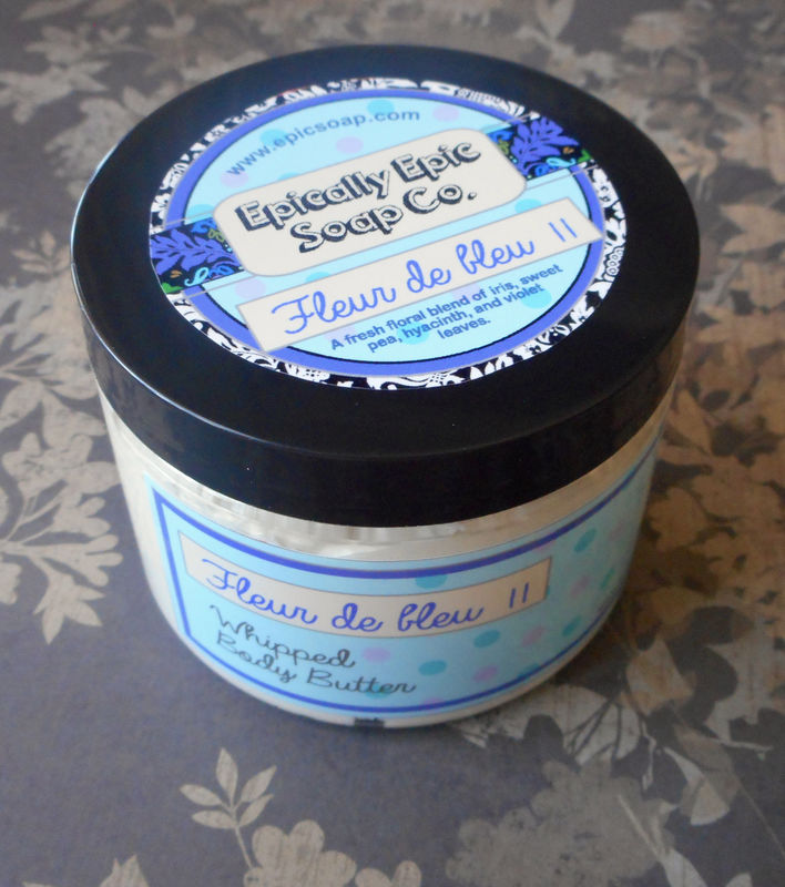 Fleur de Bleu 2 Whipped Body Butter - Limited Edition Spring Scent - product images  of