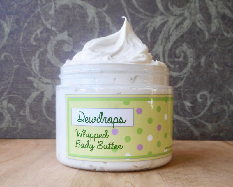 Dewdrops Whipped Body Butter - Limited Edition Spring Scent - product images  of