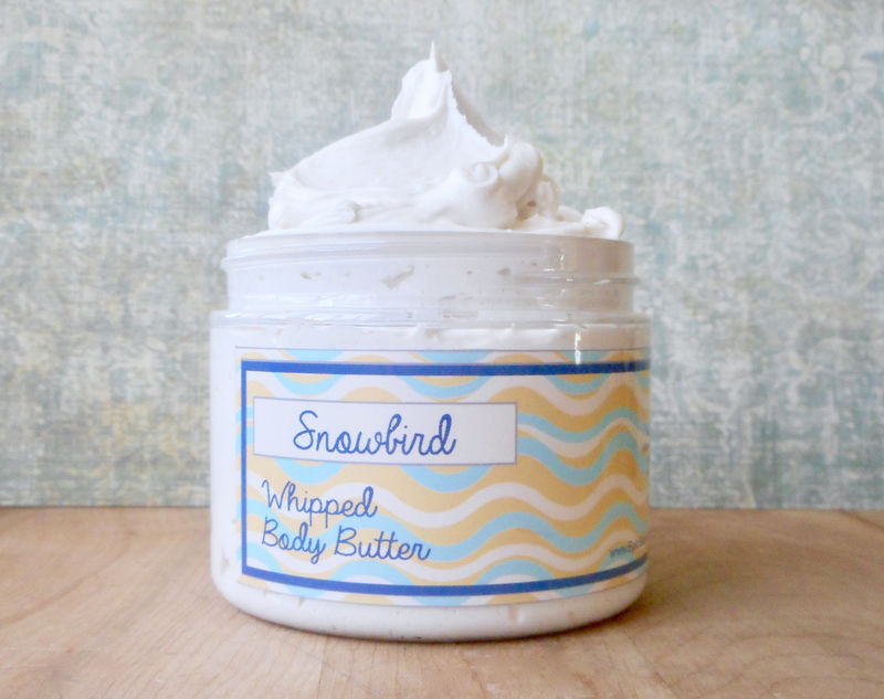 Snowbird Whipped Body Butter - Limited Edition Spring Scent - product images  of