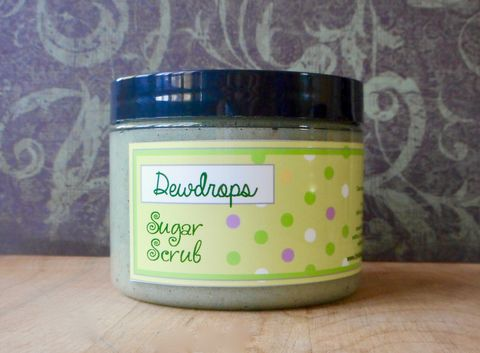 Dewdrops,Sugar,Scrub,8,oz,-,Honeydew,melon,,lychee,,mangosteen,,papaya,nectar,,yuzu,,plum,,fluffy,vanilla,Bath_And_Beauty,Soap,sugar_scrub,body_scrub,vegan,scrubby_soap,body_polish,epically_epic_soap,natural_scrub,exfoliating_scrub,vegan_body_scrub,spring_collection,lychee_mangosteen,tropical_fruit,honeydew_melon,cane sugar,turbinado sugar,olive oil,castile s