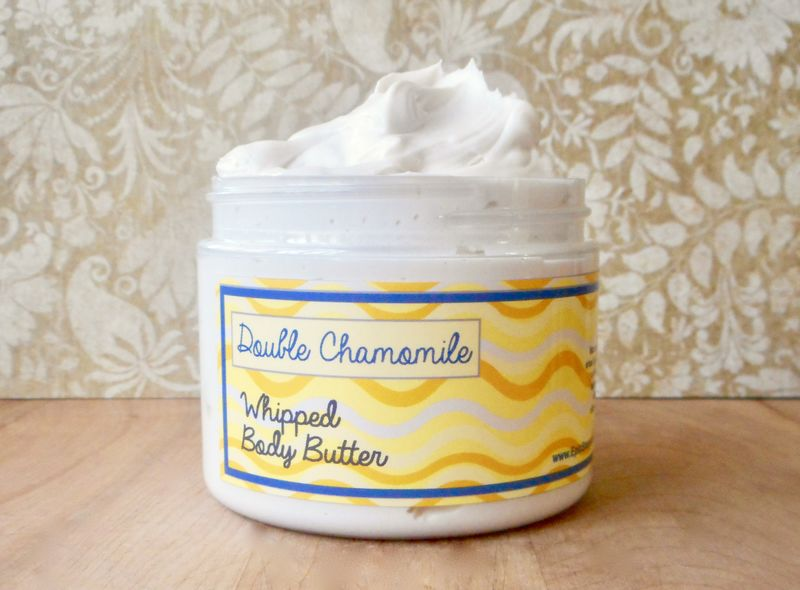 Double Chamomile Whipped Body Butter - Limited Edition Spring Scent - product images  of