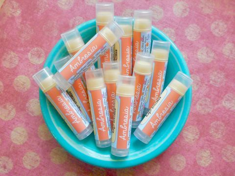 Ambrosia,Vegan,Lip,Balm,-,Limited,Edition,Summer,Flavor,Bath_And_Beauty,Lip_Balm,vegan,lip_balm,epically_epic,lip_gloss,lip_butter,vegan_lip_balm,epic_lip_balm,lipbalm,chapstick,summer_collection,marshmallow_lip_balm,coconut_lip_balm,pineapple_orange,vitamin e,candelilla wax,flavor,olive butter,olive squalane
