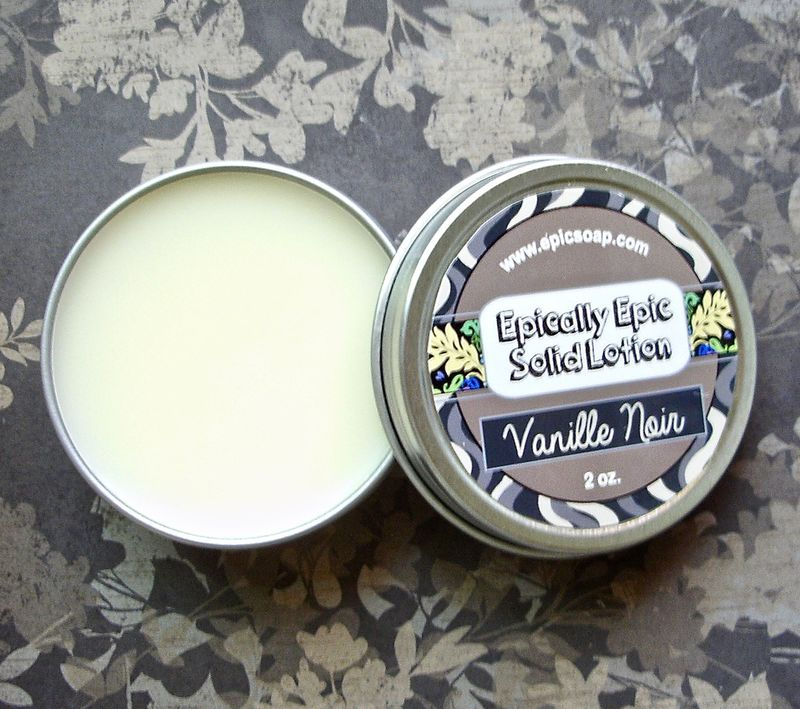 Vanille Noir Many Purpose Solid Lotion - Limited Edition Summer Part 2 Scent - product image