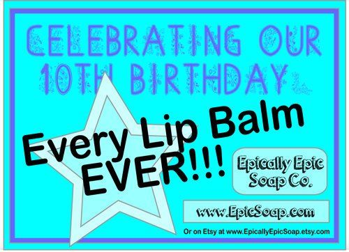 Every Lip Balm Ever Extras! Flavors A to C  - product images  of