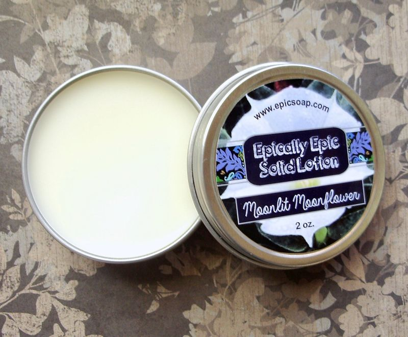 Moonlit Moonflower Many Purpose Solid Lotion - Limited Edition Fall Collection Scent - product image