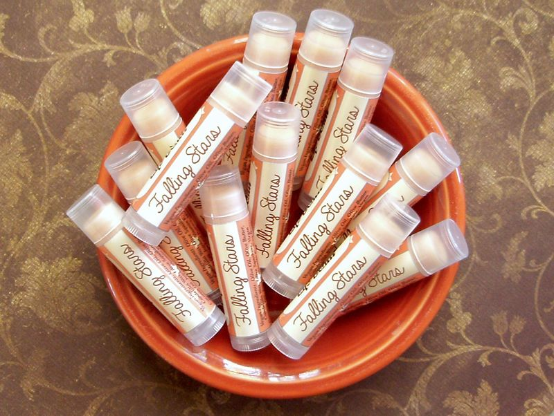 Falling Stars Vegan Lip Balm - Limited Edition Fall Collection Flavor - product image