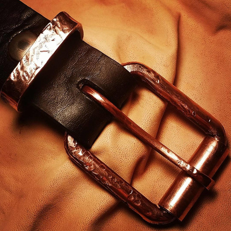 "100% USA Made Clintonville Leather 1 1/2"" Work Belt, Men's Leather Belt, Belt,Full Grain Belt, Harness Leather Belt - product images  of"