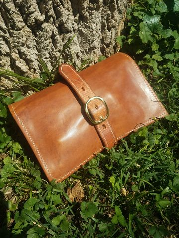 Horween,2,Pipe,Pouch,Pipe pouch, tobacco pipe pouch, smoking pouch, pipe case