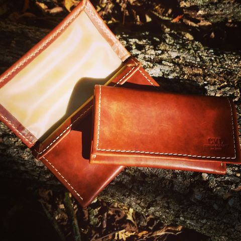 Horween,Natural,Dublin,Tobacco,Pouch,Horween tobacco pouch