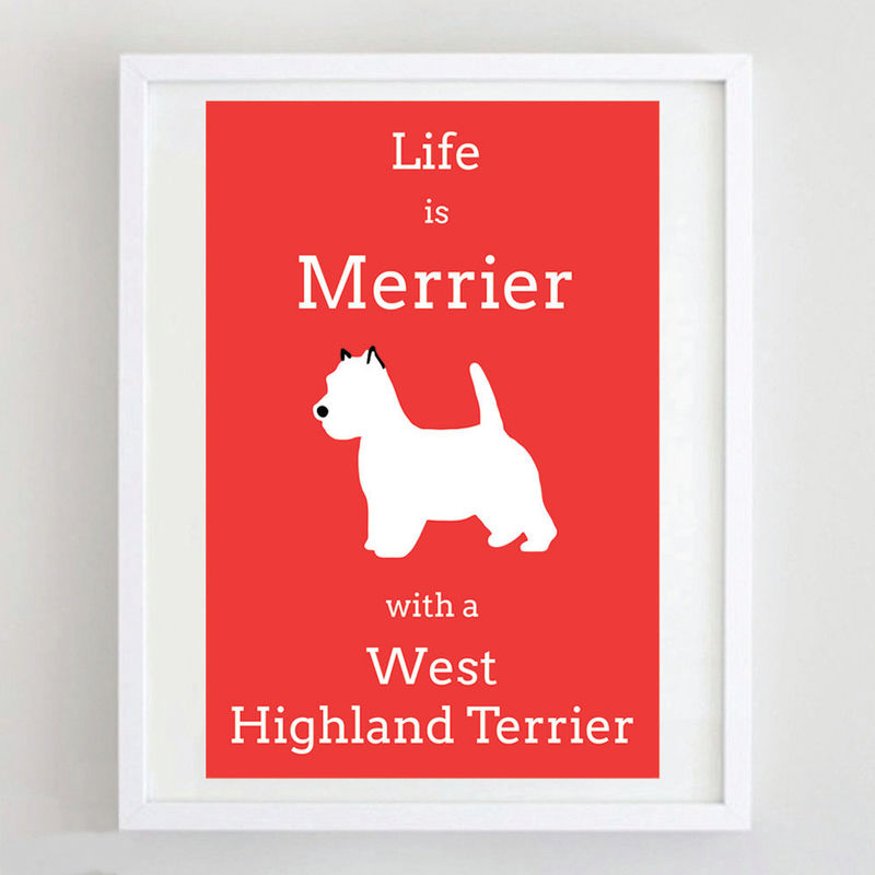 West Highland Terrier Print - product image