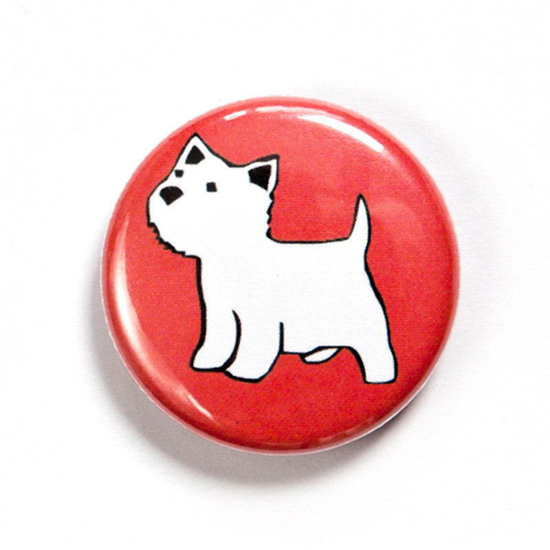 West Highland Terrier Badge - product images  of
