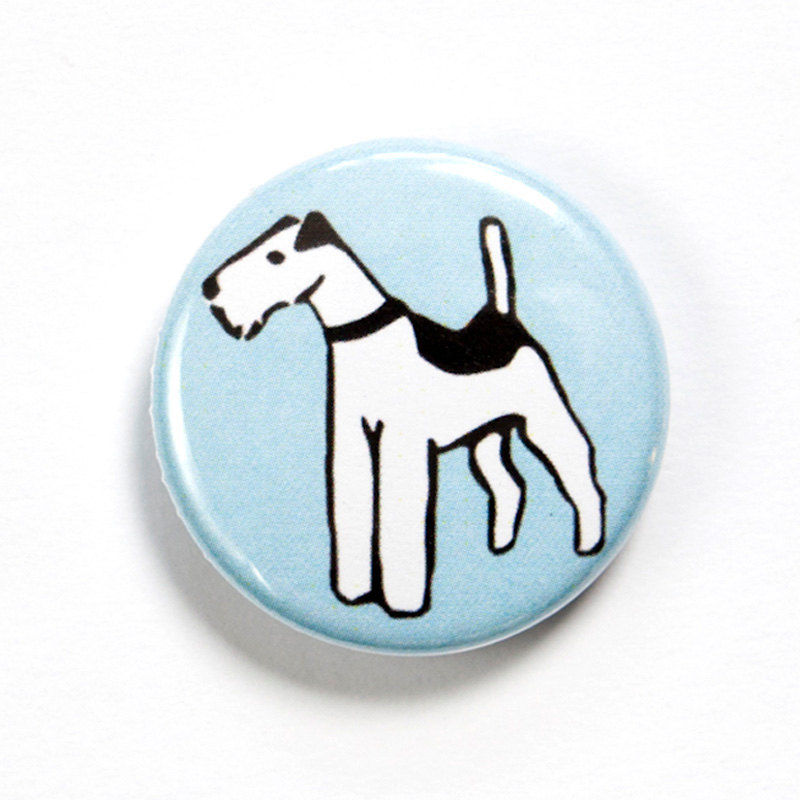 Wire Fox Terrier Badge - product images  of