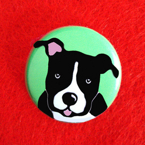 Staffordshire Bull Terrier Badge - product images  of