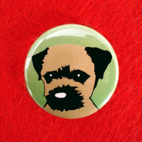 Border Terrier Badge - product images  of