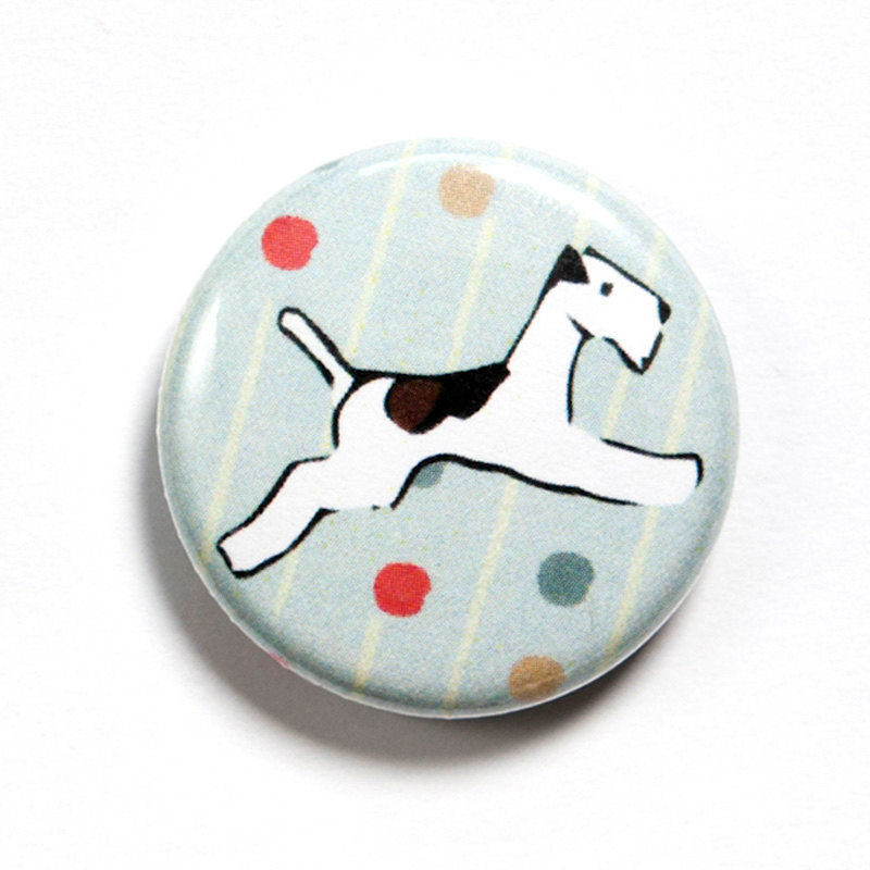Flying Fox Terrier Badge - product images  of
