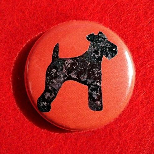 Kerry Blue Terrier Badge - product images  of