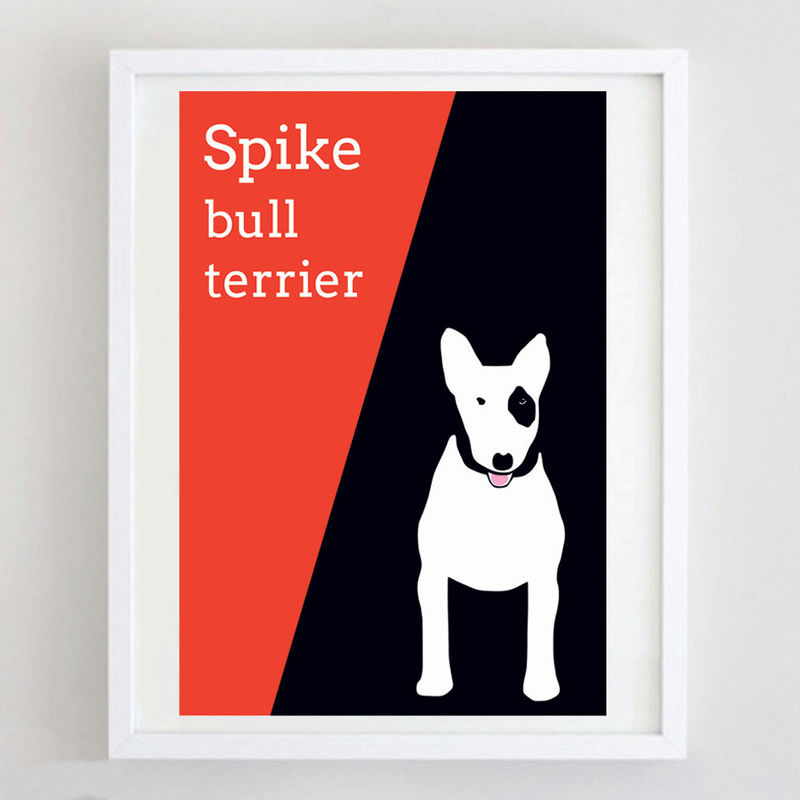 Bull Terrier Print  - product images  of