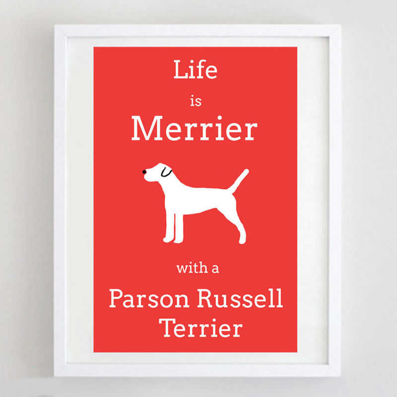 Parson Russell Terrier Print  - product image
