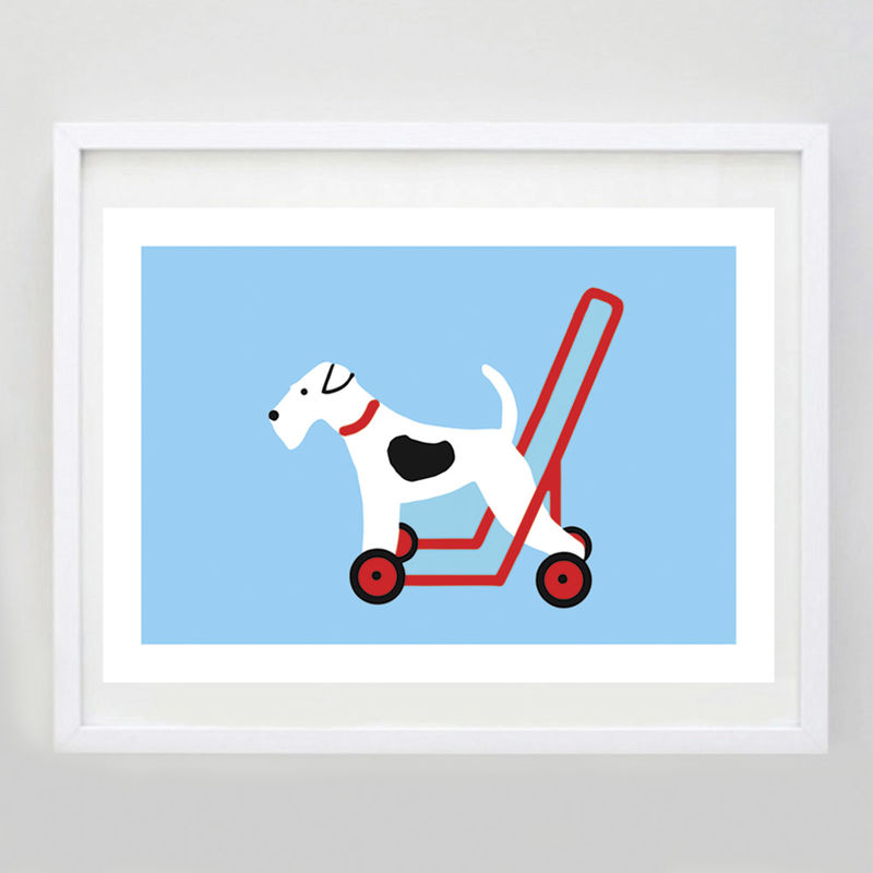 Dog On Wheels Print 1 - product image