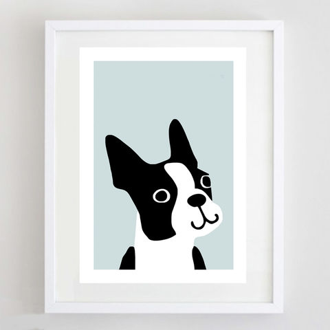 Boston,Terrier,Print,Boston Terrier Print