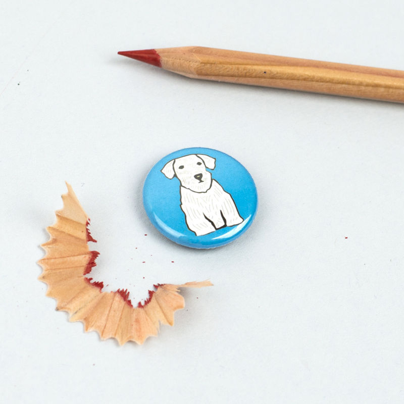 Sealyham Terrier Badge - product images  of