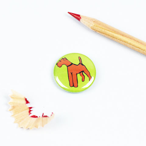 Irish,Terrier,Badge,Irish Terrier Gift, Irish Terrier Pinback Button