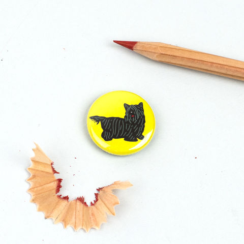 Skye,Terrier,Badge,Skye Terrier Badge, Skye Terrier Pinback Button
