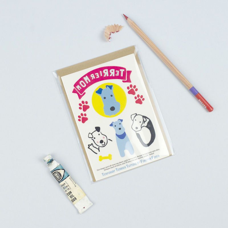 Terrier Temporary Tattoos - product images  of