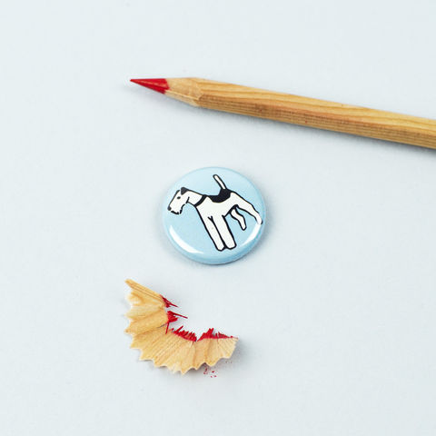 Wire,Fox,Terrier,Badge,Fox Terrier Badge, Wire Fox Terrier Badge, Wire Hair Fox Terrier Badge, Fox Terrier Pinback Button, Terrier Gift