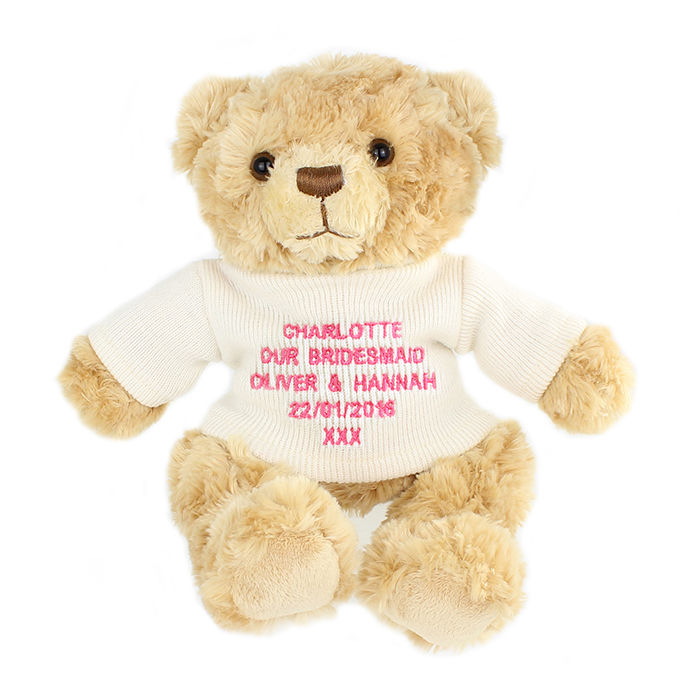 Pink Teddy Message Bear - product images  of