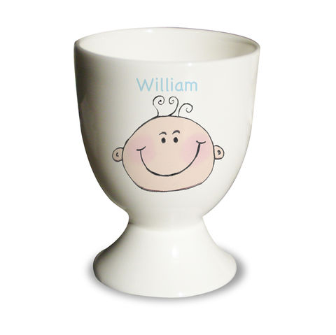Baby,Boy,Egg,Cup,Baby Boy Egg Cup,boy egg cup,personalised egg cup,childs egg cup