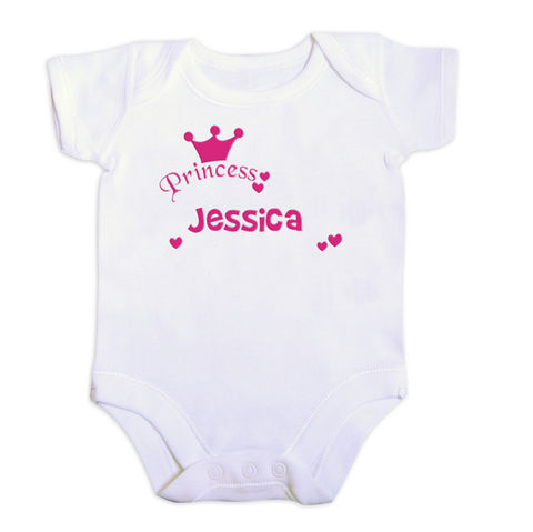 Pink,Print,Princess,Vest,Pink Print Princess Vest,Children Gift Ideas,Baby Gift Ideas,Children Keepsakes,Baby Keepsakes,Personalised Baby Gifts,Personalised Childrens Gifts