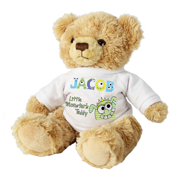 Little Monster Message Bear - product image