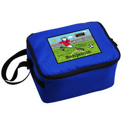 Bang,on,the,Door,Football,Crazy,Lunch,Bag,Bang on the Door Football Crazy Lunch Bag,blue lunch bag,blue school lunch bag,boys lunch bag,boys school lunch bag, back to school lunch bag,back to school boys lunch bag