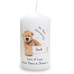 Teddy,Candle,Teddy Candle,personalised teddy candle,ideal birthday gift,ideal christening gift,ideal baptism gift,ideal christmas gift,childs candle gift