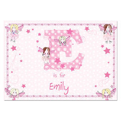 Fairy,Placemat,Fairy Placemat,Childs Placemat, Girls Placemat
