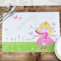 Garden,Fairy,Placemat,Garden Fairy Placemat,home decor,personalised home decor,dining room personalised table mats