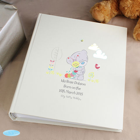 Personalised,Tiny,Tatty,Teddy,Cuddle,Bug,Album,with,Sleeves,Personalised Tiny Tatty Teddy Cuddle Bug Album with Sleeves,Childrens Photo Album, Kids Photo Album,Personalised Photo Album,Tiny Tatty Cuddle Bug