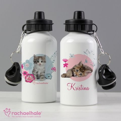 Personalised,Rachael,Hale,Cute,Kitten,Drinks,Bottle,Cute Kitten Drinks Bottle,Personalised Drinks Bottles.Rachael Hale Drinks Bottles