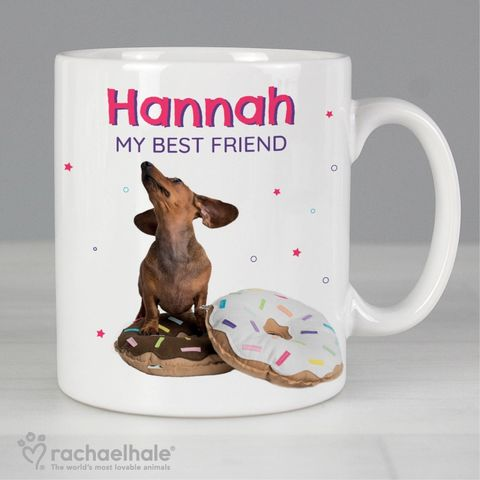 Personalised,Rachael,Hale,'I,Donut,Know',Mug,Rachael Mugs,Personalised Mugs,Animal Mugs