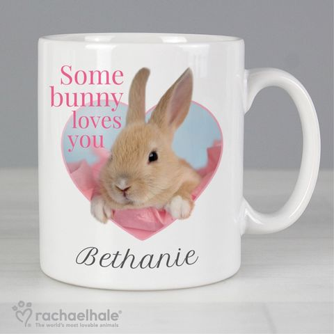 Personalised,Rachael,Hale,'Some,Bunny',Mug,Bunny Mugs,Personalised Bunny Mugs,Girls Mugs,Personalised Girls Mugs,Rachael Hale Mugs
