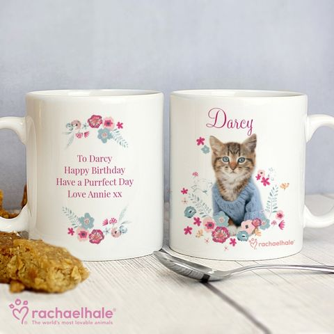 Personalised,Rachael,Hale,Cute,Kitten,Mug,Kitten Mugs,Personalised Kitten Mugs,Girls Kitten Mugs,Rachael Hale Mugs,Personalised Mugs