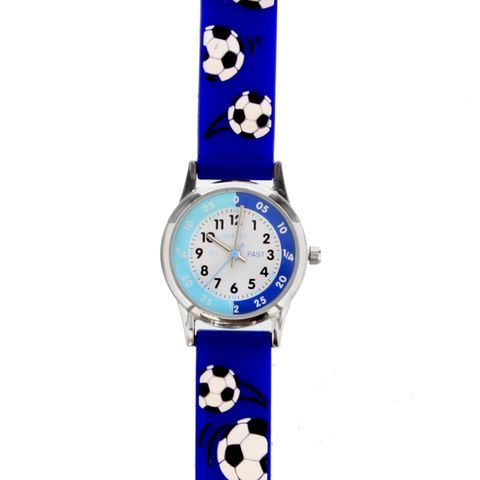 Personalised,Kid's,Blue,Time,Teacher,Watch,with,Presentation,Box,Personalised Boys Watches,Childs Personalised Watches