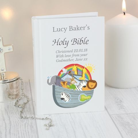 Personalised,Noah's,Ark,Bible,Childrens Bible,Childrens Personalised Bible,Noahs Ark Bible,Personalised Noahs Ark Bible,Personalised Books